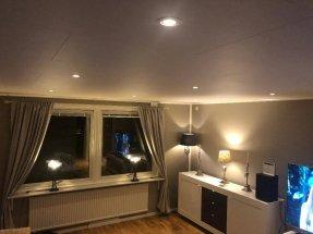 Innertak med spotlights